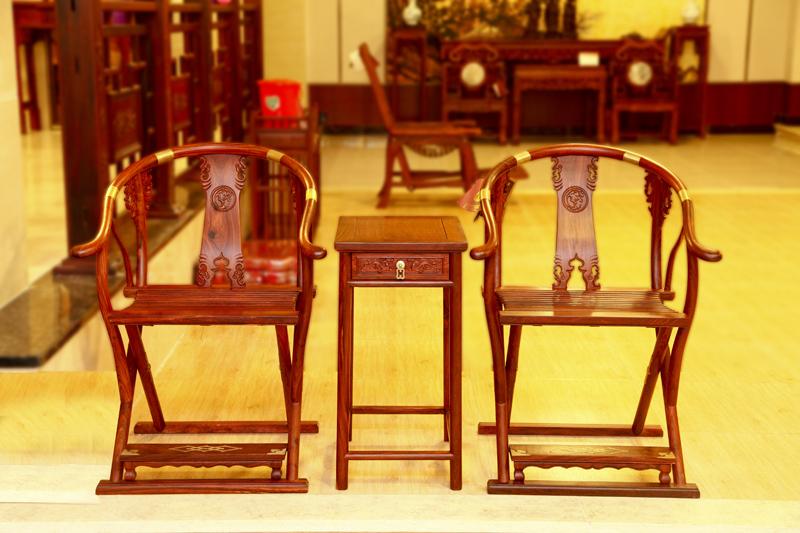 小叶红檀·交椅图片及家具信息图片