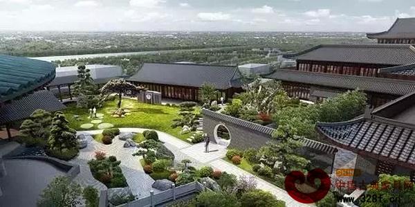 大师艺术园采用多层园林式四合院建筑风格,这里既是全国顶级艺术大师图片