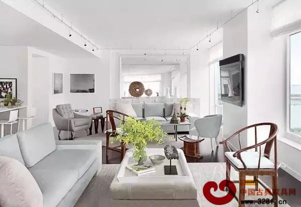 圈椅搭配现代简约风格家居